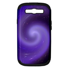 Spiral Lighting Color Nuances Samsung Galaxy S Iii Hardshell Case (pc+silicone) by Celenk