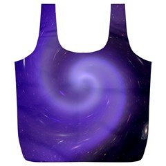 Spiral Lighting Color Nuances Full Print Recycle Bags (l)