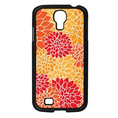Abstract Art Background Colorful Samsung Galaxy S4 I9500/ I9505 Case (black) by Celenk