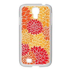 Abstract Art Background Colorful Samsung Galaxy S4 I9500/ I9505 Case (white) by Celenk