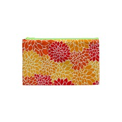 Abstract Art Background Colorful Cosmetic Bag (xs) by Celenk
