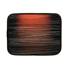 Background Red Orange Modern Netbook Case (small)  by Celenk