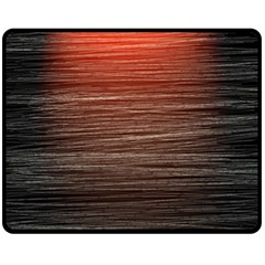 Background Red Orange Modern Fleece Blanket (medium)