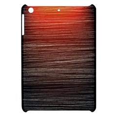 Background Red Orange Modern Apple Ipad Mini Hardshell Case by Celenk