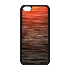 Background Red Orange Modern Apple Iphone 5c Seamless Case (black) by Celenk