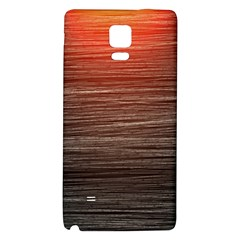 Background Red Orange Modern Galaxy Note 4 Back Case by Celenk