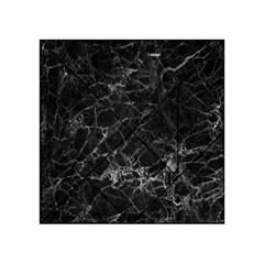 Black Texture Background Stone Acrylic Tangram Puzzle (4  X 4 ) by Celenk