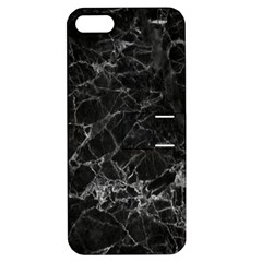 Black Texture Background Stone Apple Iphone 5 Hardshell Case With Stand by Celenk