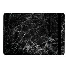 Black Texture Background Stone Samsung Galaxy Tab Pro 10 1  Flip Case by Celenk