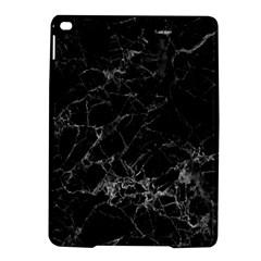 Black Texture Background Stone Ipad Air 2 Hardshell Cases by Celenk
