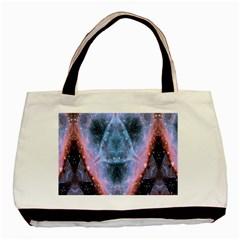 Sacred Geometry Mandelbrot Fractal Basic Tote Bag by Celenk