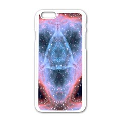 Sacred Geometry Mandelbrot Fractal Apple Iphone 6/6s White Enamel Case by Celenk