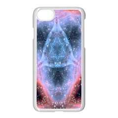 Sacred Geometry Mandelbrot Fractal Apple Iphone 8 Seamless Case (white) by Celenk