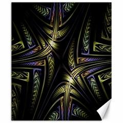 Fractal Braids Texture Pattern Canvas 20  X 24   by Celenk