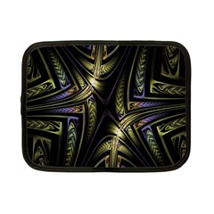 Fractal Braids Texture Pattern Netbook Case (small)  by Celenk