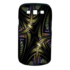 Fractal Braids Texture Pattern Samsung Galaxy S Iii Classic Hardshell Case (pc+silicone) by Celenk