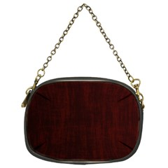 Grunge Brown Abstract Texture Chain Purses (two Sides)  by Celenk