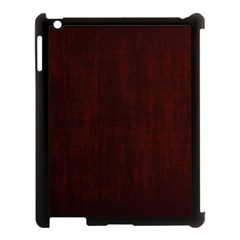Grunge Brown Abstract Texture Apple Ipad 3/4 Case (black) by Celenk