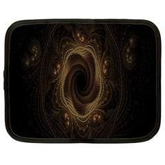 Beads Fractal Abstract Pattern Netbook Case (xxl)  by Celenk