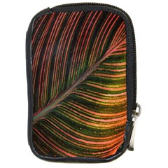 Leaf Colorful Nature Orange Season Compact Camera Cases by Celenk