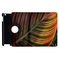 Leaf Colorful Nature Orange Season Apple Ipad 2 Flip 360 Case by Celenk