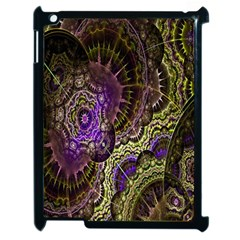 Abstract Fractal Art Design Apple Ipad 2 Case (black) by Celenk