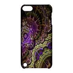Abstract Fractal Art Design Apple Ipod Touch 5 Hardshell Case With Stand by Celenk
