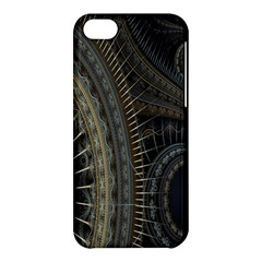 Fractal Spikes Gears Abstract Apple Iphone 5c Hardshell Case by Celenk