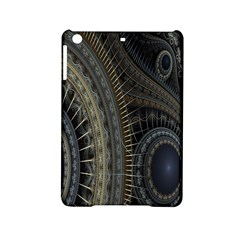 Fractal Spikes Gears Abstract Ipad Mini 2 Hardshell Cases by Celenk