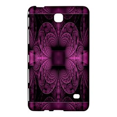 Fractal Magenta Pattern Geometry Samsung Galaxy Tab 4 (8 ) Hardshell Case  by Celenk