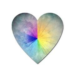 Abstract Art Modern Heart Magnet by Celenk