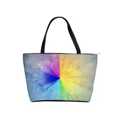 Abstract Art Modern Shoulder Handbags by Celenk