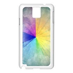 Abstract Art Modern Samsung Galaxy Note 3 N9005 Case (white) by Celenk