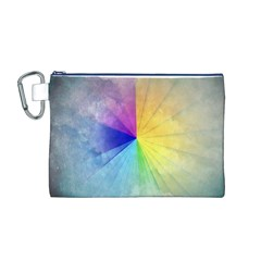 Abstract Art Modern Canvas Cosmetic Bag (m) by Celenk