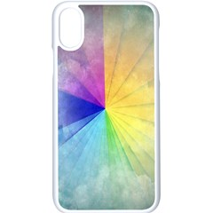 Abstract Art Modern Apple Iphone X Seamless Case (white) by Celenk