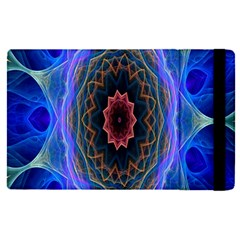 Cosmic Flower Kaleidoscope Art Apple Ipad Pro 9 7   Flip Case by Celenk
