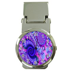Fractal Fantasy Creative Futuristic Money Clip Watches by Celenk