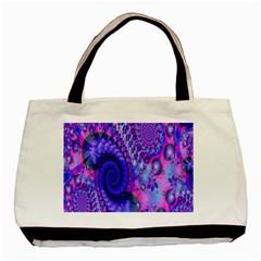 Fractal Fantasy Creative Futuristic Basic Tote Bag by Celenk