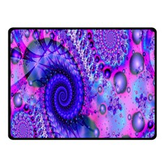 Fractal Fantasy Creative Futuristic Fleece Blanket (small) by Celenk