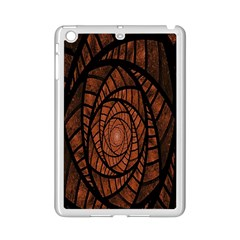 Fractal Red Brown Glass Fantasy Ipad Mini 2 Enamel Coated Cases by Celenk