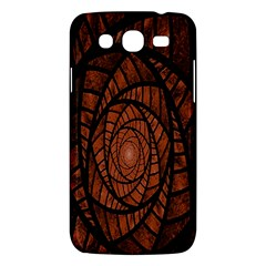 Fractal Red Brown Glass Fantasy Samsung Galaxy Mega 5 8 I9152 Hardshell Case  by Celenk