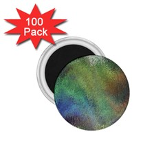Frosted Glass Background Psychedelic 1 75  Magnets (100 Pack)  by Celenk