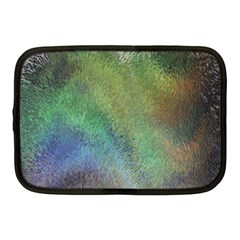Frosted Glass Background Psychedelic Netbook Case (medium)  by Celenk