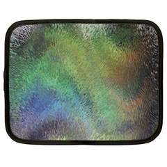Frosted Glass Background Psychedelic Netbook Case (xxl)  by Celenk