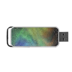 Frosted Glass Background Psychedelic Portable Usb Flash (two Sides) by Celenk