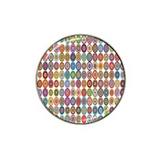 Decorative Ornamental Concentric Hat Clip Ball Marker (10 Pack) by Celenk