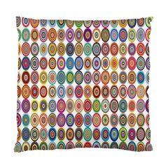 Decorative Ornamental Concentric Standard Cushion Case (one Side) by Celenk