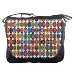 Decorative Ornamental Concentric Messenger Bags by Celenk