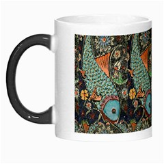 Pattern Background Fish Wallpaper Morph Mugs by Celenk