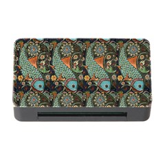 Pattern Background Fish Wallpaper Memory Card Reader With Cf by Celenk
